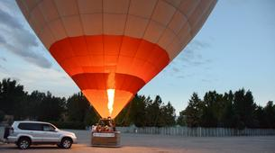 Hot Air Ballooning-Madrid-Hot air balloon flight over Aranjuez, near Madrid-1