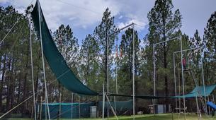 Tyrolienne-Drakensberg-Flying trapeze swing in Drakensberg-6