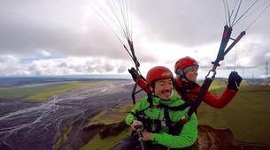 Paragliding-Vik i Myrdal-Tandem paragliding flights over Vik y Myrdal, Iceland-1