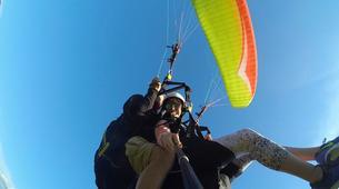 Paragliding-Ioannina-Tandem paragliding flight over Ioanina Lake, Greece-1