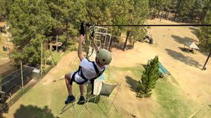 Tyrolienne-Drakensberg-Ziplining excursion in Northern Drakensberg-5