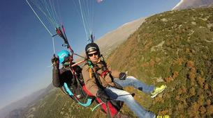 Paragliding-Mount Olympus-Tandem paragliding flight over Mount Olympus, Greece-6