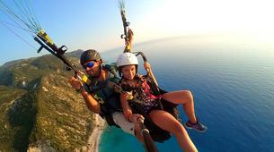 Paragliding-Lefkada-Tandem paragliding flight over Lefkada, Greece-4