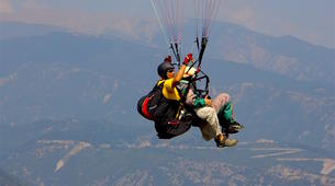 Paragliding-Mount Olympus-Tandem paragliding flight over Mount Olympus, Greece-5
