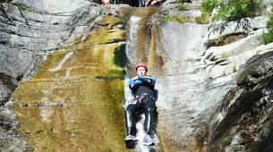 Canyoning-Ajaccio-Canyon de la Richiusa à Bocognano, près d'Ajaccio-13