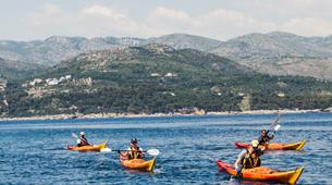 Kayak de mer-Dubrovnik-7 Day sea kayaking tour around the Elaphite Islands, near Dubrovnik-4