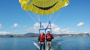 Parasailing-Rotorua-Parasailing over Lake Rotorua-5