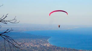 Paragliding-Mount Olympus-Tandem paragliding flight over Mount Olympus, Greece-4