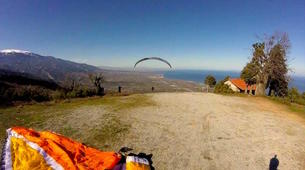 Paragliding-Mount Olympus-Tandem paragliding flight over Mount Olympus, Greece-12