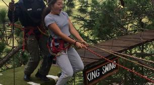 Saut à l'élastique-Drakensberg-17 Metre King Swing in Drakensberg-4