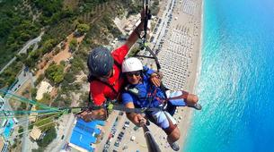 Paragliding-Lefkada-Tandem paragliding flight over Lefkada, Greece-1