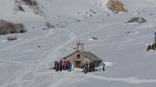 Raquette à Neige-Briançon, Serre-Chevalier-Week-end Randonnée dans la Vallée de la Clarée, Hautes-Alpes-7