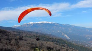 Paragliding-Mount Olympus-Tandem paragliding flight over Mount Olympus, Greece-1