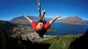 Bungee Jumping-Queenstown-Swing 400 metres from the Ledge (Epic Views) over Queenstown-1