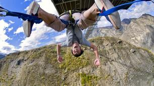 Bungee Jumping-Queenstown-Nevis Swing (from 160m., New Zealand's Highest) in Queenstown-6