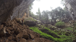 Caving-Kefalonia-Caving excursion in the Caves of Sami-4