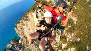 Paragliding-Lefkada-Tandem paragliding flight over Lefkada, Greece-7