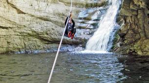 Canyoning-Ajaccio-Canyon de la Richiusa à Bocognano, près d'Ajaccio-6