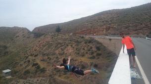 Saut à l'élastique-Costa Almería-Bridge Swinging from Gador in Almeria-3