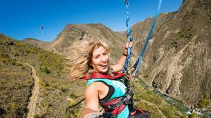 Bungee Jumping-Queenstown-Nevis Swing (from 160m., New Zealand's Highest) in Queenstown-2