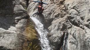 Canyoning-Ajaccio-Canyon de la Richiusa à Bocognano, près d'Ajaccio-14