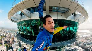 Bungee Jumping-Auckland-SkyJump (192m. and Jump Speed of 85kph) in Auckland-2