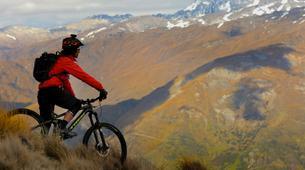 Mountain bike-Queenstown-Heli-biking trips in Queenstown-2