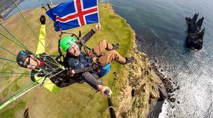 Paragliding-Vik i Myrdal-Tandem paragliding flights over Vik y Myrdal, Iceland-3