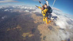 Skydiving-Madrid-Tandem skydive from 4000 meters near Madrid-5