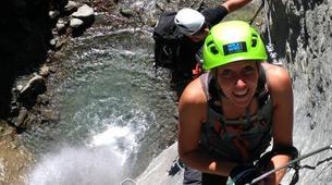 Via Ferrata-Wanaka-'Wild Things ' Twin Falls Waterfall Cable Climb in Wanaka-6