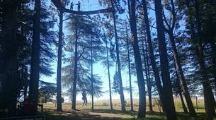 Saut à l'élastique-Drakensberg-17 Metre King Swing in Drakensberg-1