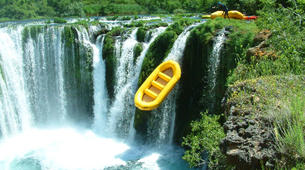 Rafting-Zadar-River rafting down Zrmanja River, near Zadar-4
