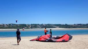 Kitesurf-Lagune de Óbidos-Private kitesurfing lessons in Obidos Lagoon-4