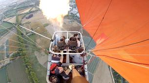 Hot Air Ballooning-Madrid-Hot air balloon flight over Aranjuez, near Madrid-6