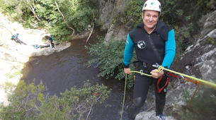 Canyoning-Céret-Canyon of Cascades Baoussous near Ceret-2