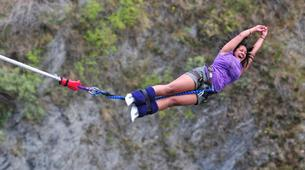 Bungee Jumping-Queenstown-Bungee jumping from the World's First Bungee (43m.) in Queenstown-5
