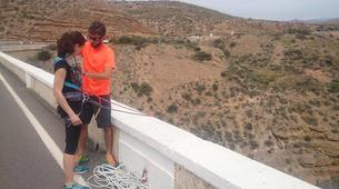 Saut à l'élastique-Costa Almería-Bridge Swinging from Gador in Almeria-6