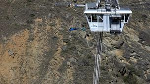 Bungee Jumping-Queenstown-Bungee jumping over Nevis River (134m. Australasia's Highest) in Queenstown-6