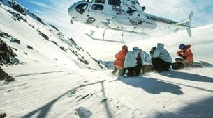 Heliski-Queenstown-'Free Ride' Heliskiing day from Queenstown-1