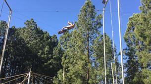 Tyrolienne-Drakensberg-Flying trapeze swing in Drakensberg-2