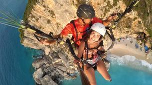 Paragliding-Lefkada-Tandem paragliding flight over Lefkada, Greece-3