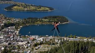 Bungee Jumping-Queenstown-Swing 400 metres from the Ledge (Epic Views) over Queenstown-3