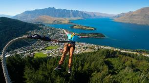 Bungee Jumping-Queenstown-Bungee jumping from the Ledge (47m Freestyle with Epic Views) in Queenstown-2