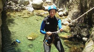 Canyoning-Ajaccio-Canyon de la Richiusa à Bocognano, près d'Ajaccio-9