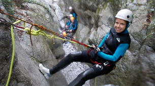 Canyoning-Céret-Canyon of Cascades Baoussous near Ceret-3