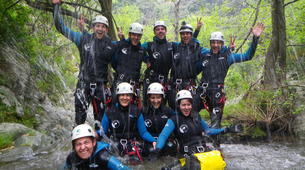 Canyoning-Céret-Canyon of Cascades Baoussous near Ceret-5