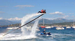 Flyboard / Hoverboard-Ajaccio-Flyboard, hoverboard or jetpack session in the Gulf of Ajaccio, Corsica-2