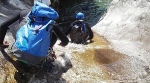 Canyoning-Ajaccio-Canyon de la Richiusa à Bocognano, près d'Ajaccio-12
