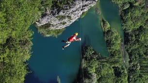 Zip-Lining-Omis-Ziplining over Cetina River, Omis-3