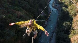 Saut à l'élastique-Kathmandu-Canyon Swing from 160 metres near Kathmandu-1